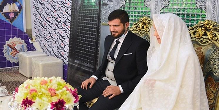 عقد زوج مسلمان لبنانی و اوکراینی در حرم حضرت عبدالعظیم(ع)