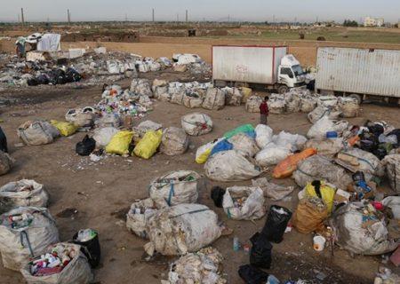 پلمب واحد غیرمجاز بازیافت پلاستیک در کهریزک