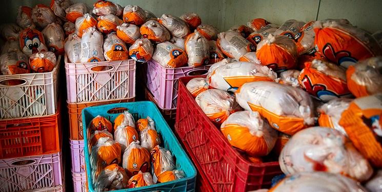 توزیع ۴۰ تن گوشت گرم مرغ در شهرستان ری