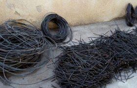 ۶ سارق کابل برق در شهرری دستگیر شدند