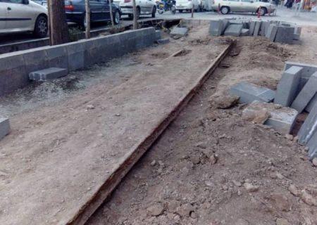 مرمت ریل ماشین دودی دوره قاجار در شهرری آغاز شد