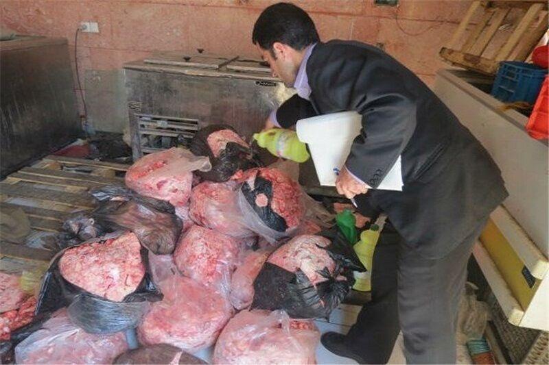 ۲ تن گوشت سفید فاسد در شهرستان ری معدوم شد