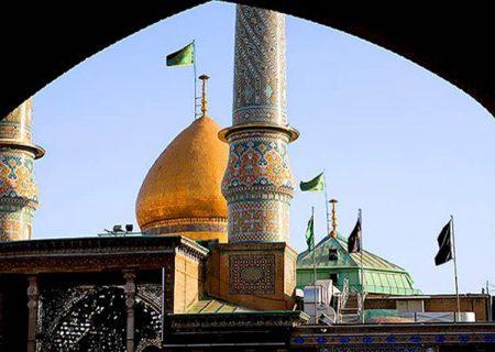 درهای حرم حضرت عبدالعظیم (ع) بسته شد