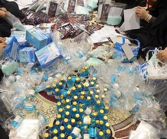 سه هزار بسته بهداشتی در بخش قلعه نو شهرستان ری توزیع شد