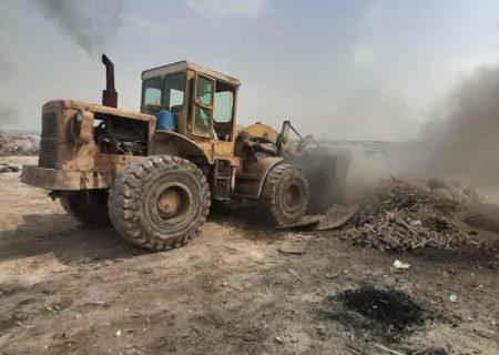 ۵۲ کوره زغال گیری دربخش قلعه نو تخریب شد