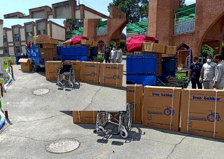 سه دستگاه احیا و ۴۰ ویلچر به آسایشگاه کهریزک اهدا شد