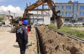 توسعه و نوسازی ۶۷۰ متر شبکه آب حسنآباد