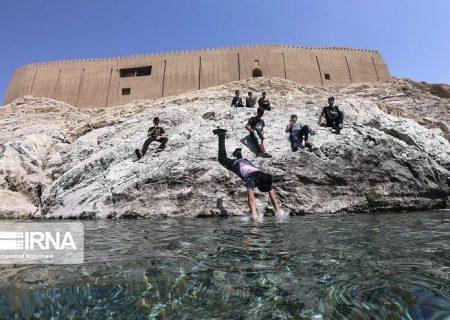 شنا کردن در چشمه علی ممنوع شد