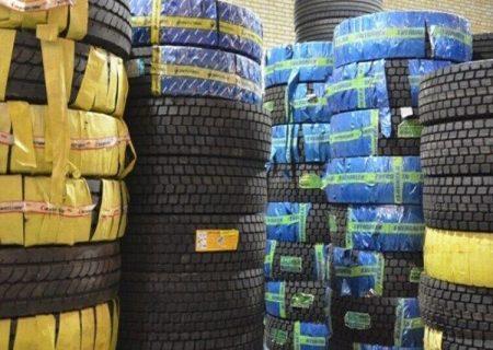 کشف بیش از ۲ هزار حلقه لاستیک خودرو در شهرستان ری