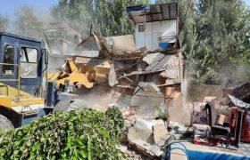 ۲۵ هزار مترمربع از زمینهای کشاورزی شهرستان ری آزادسازی شد