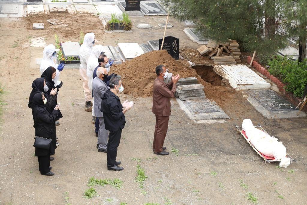 ۴۰ درصد متوفیان کرونایی کشور در بهشت زهرا (س) دفن شدند