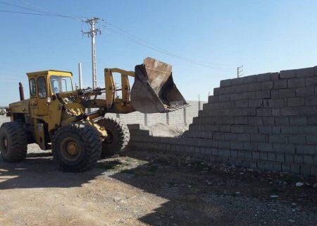 ۴۲ فقره ساخت و ساز غیرمجاز در زمینهای کشاورزی شهرستان ری تخریب شد