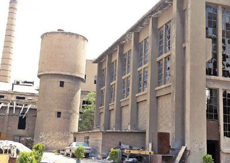 محوطه کارخانه سیمان ری تحویل شهرداری تهران شد
