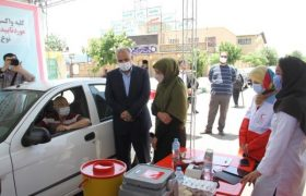 مرکز واکسیناسیون خودرویی در جوار حرم عبدالعظیم (ع) افتتاح شد