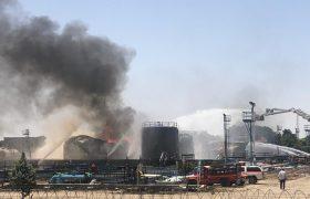عملیات آتش نشانان در پالایشگاه تهران پس از ۴۲ ساعت پایان یافت