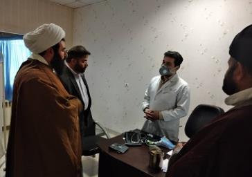 دیدار بخشدار و امام جمعه با پزشکان و پرستاران شبکه بهداشت حسن آباد فشافویه