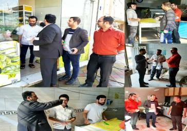 اجرای طرح نظارت برعملکرد نانوایی ها روستای فیروزآباد بخش قلعه نو