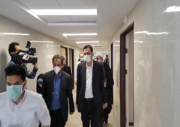 قسمتی از بخش جدید بیمارستان فیروزآبادی جهت خدمت به مردم شهرستان ری وارد مدار شد