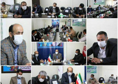 برگزاری جلسه بررسی مشکلات روستاهای بخش خاوران