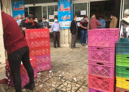 توزیع مرغ توقیفشده به نرخ دولتی در بخش کهریزک