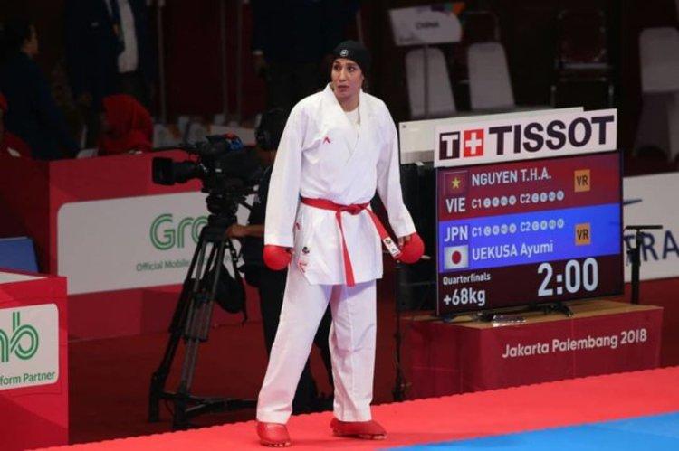 حمیده عباسعلی ورزشکار ارزنده ی ری المپیکی شد