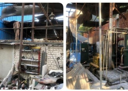 انفجار کپسولهای اکسیژن در باقرشهر/ ۲ تن جان باختند