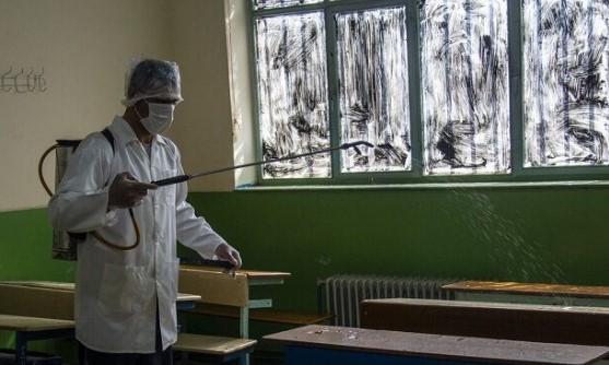 ۱۵۳ مدرسه شهرری در برابر شیوع ویروس کرونا ضدعفونی شد