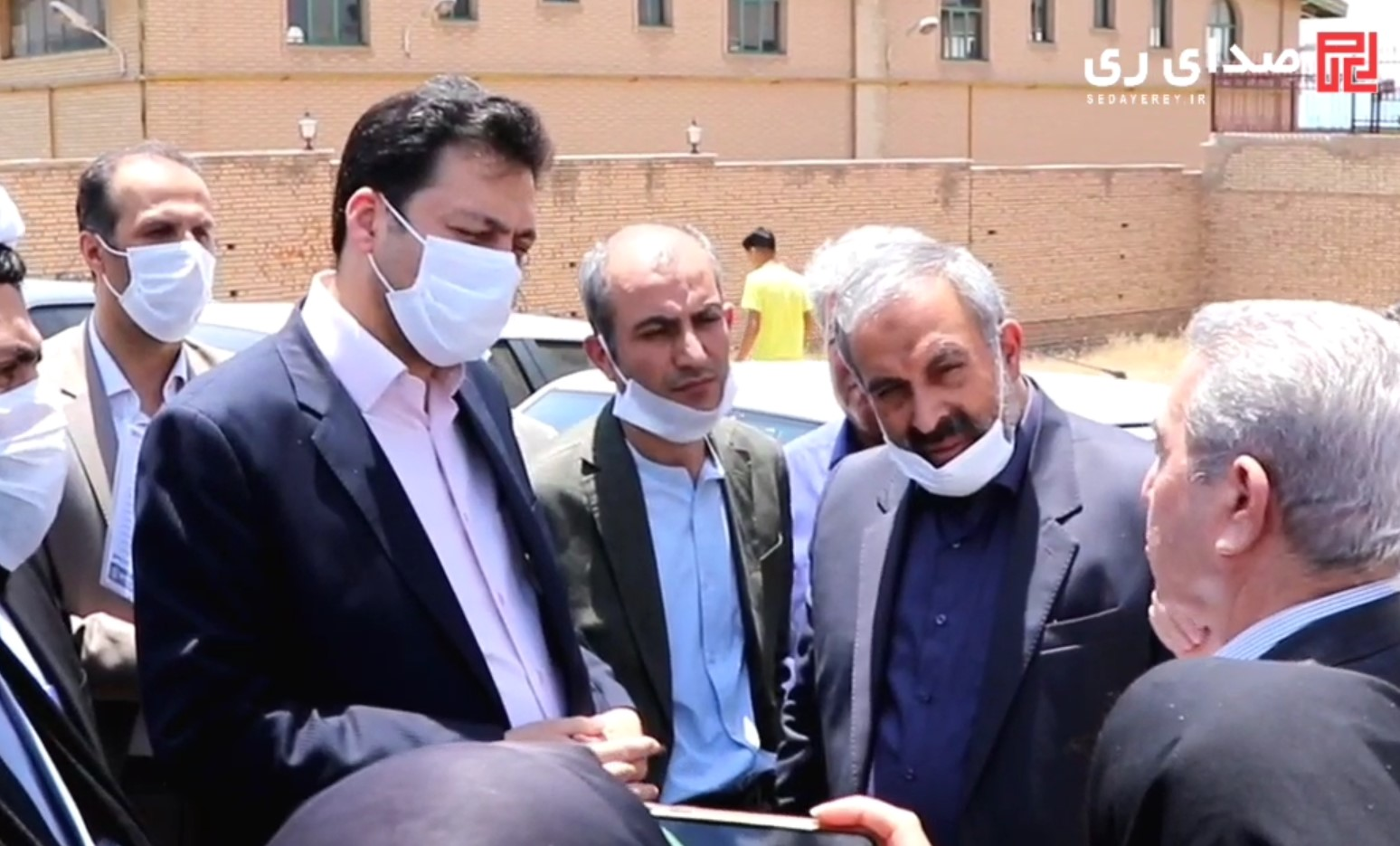بازدید فرماندار شهرستان ری به همراه نمایندگان مجلس شورای اسلامی از بخش قلعه نو