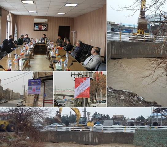برنامه راهبردی پیشگیری از حوادث روی میز ستاد مدیریت بحران شهر کهریزک