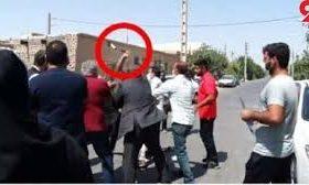 حمله به عوامل برنامه تلویزیونی در شهرستان ری با صلاح سرد