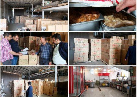 احتکار بیش از ۴ هزار کارتن تخم مرغ در بخش خاوران
