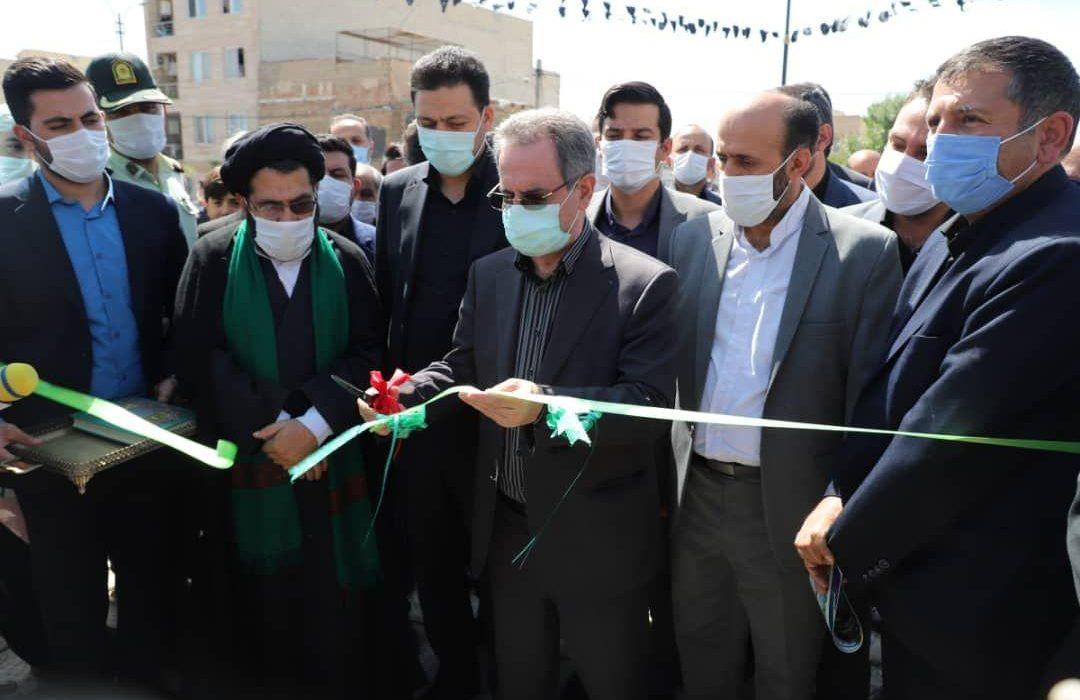 چهار طرح عمرانی و بهداشتی در شهرستان ری به بهره برداری رسید