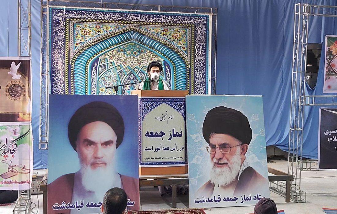 تقدیر امام جمعه قیامدشت از ابتکارات عزاداران حسینی در این شهر