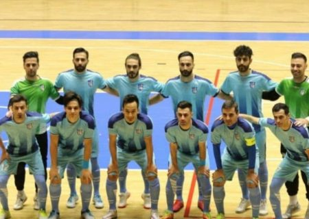 پیروزی تیم فوتسال راگا شهرری برابر نماینده شیراز